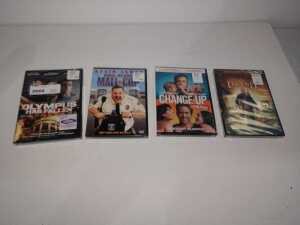 SET OF FOUR DVDS, UNOPENED, SEE PICTURES