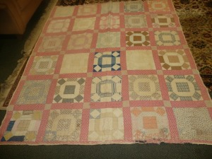 ANTIQUE HANDMADE QUILT