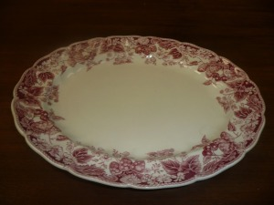 JOHNSON BROTHERS STRAWBERRY FAIR SERVING PLATTER