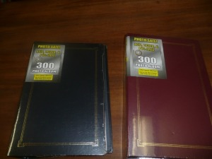 LOT OF 2 PHOTO ALBUMS NEW