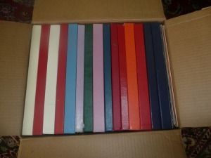 BOX LOT OF VINTAGE ALBUMS