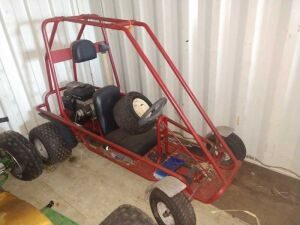 GO CART, SINGLE SEAT , 190 INTEK ENGINE, CONDITION UNKNOWN