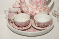 VINTAGE PORCELAIN TEA SET MINIATURES - LIV - 3