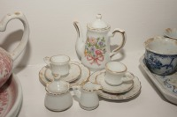 VINTAGE PORCELAIN TEA SET MINIATURES - LIV - 4
