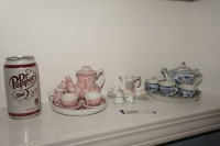 VINTAGE PORCELAIN TEA SET MINIATURES - LIV - 7