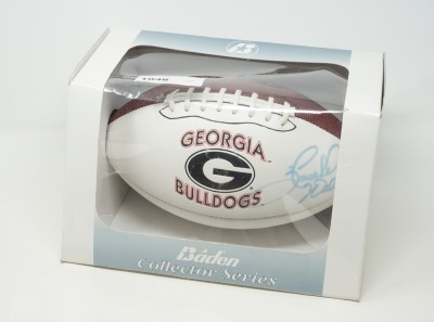 HERSCHEL WALKER AUTOGRAPHED UNIVERSITY OF GEORGIA FOOTBALL - LIV