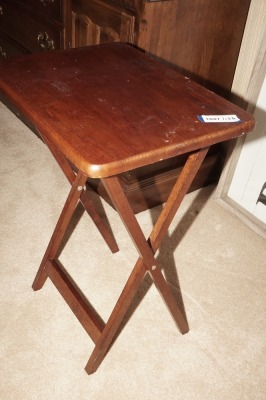VINTAGE WOODEN FOLDING TABLE - LIV
