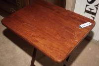 VINTAGE WOODEN FOLDING TABLE - LIV - 2
