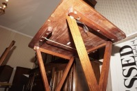 VINTAGE WOODEN FOLDING TABLE - LIV - 3