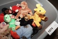 TUB FILLED WITH BEANIE BABIES - LIV - 6