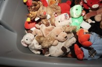 TUB FILLED WITH BEANIE BABIES - LIV - 7