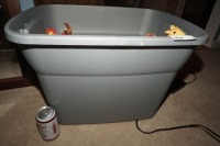 TUB FILLED WITH BEANIE BABIES - LIV - 8