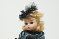 MADAME ALEXANDER DOLL WITH STAND - LIV - 2