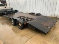 18ft Car Trailer With Winch - 2
