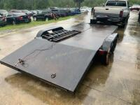18ft Car Trailer With Winch - 4