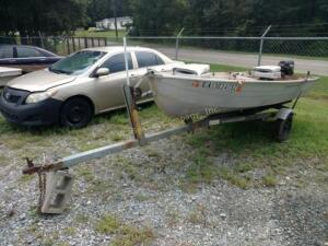 1984 Boat With Trailer