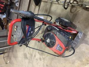 Troy Built Pressure Washer