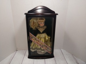 LITTLE LADIES DOLL, LIMITED EDITION COLLECTIBLE SERIES, COMES IN WOODEN DISPLAY BOX