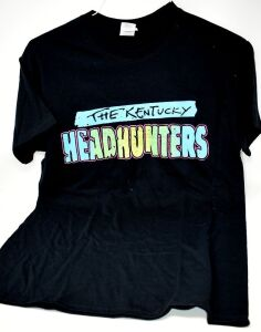 THE KENTUCKY HEADHUNTERS T-SHIRT M - DONATED BY THE KENTUCKY HEADHUNTERS