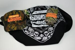 tHE KENTUCKY HEADHUNTERS GIFT SET WITH MOSSY OAK CAP & COOZY PLUS BANDANA - DONATED BY THE KENTUCKY HEADHUNTERS