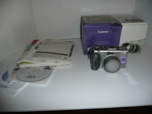 CANON PRO SHOT G3 DIGITAL CAMERA