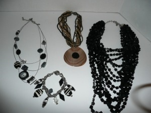 LOT OF CHICO COSTUME JEWELRY NECKLACES AND BRACELET
