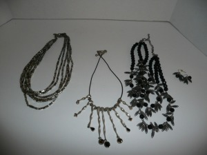 LOT OF CHICO'S COSTUME JEWELRY NECKLACES AND EARRINGS