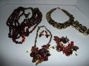 LOT OF CHICO'S COSTUME JEWELRY NECKLACES EARRINGS AND BRACELETS