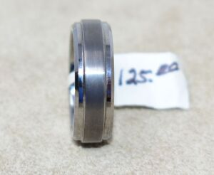 TUNGSTEN CARBIDE COMFORT BAND RING SIZE 7.5