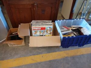 GROUP LOT IF L.P. ALBUMS AND 45 RECORDS