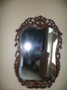 BEAUTIFUL ORNATE FRAMED MIRROR