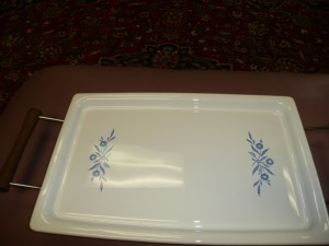 VINTAGE CORNINGWARE SERVING PLATTER