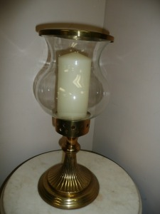 VERY NICE BRASS CANDLESTICK HOLDER