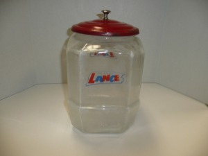ANTIQUE LANCE JAR