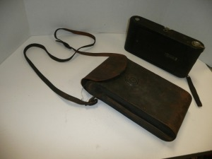 ANTIQUE KODAK CAMERA WITH CASE NO.3A AUTOGRAPHIC KODAK