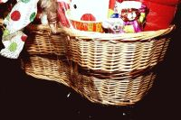 LARGE HOLIDAY GIFT BASKET WITH A LITTLE BIT OF EVERYTHING - 4