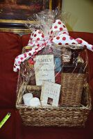LARGE PEACE AND PRAYERS GIFT BASKET WITH WICKER CANDLE HOLDER, BOOK, CANDLES ART, THERMA PLUSH BLANKET AND MORE - 7