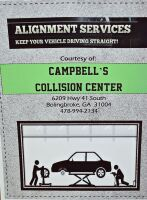 CAMPBELL'S COLLISION CENTER ALIGNMENT SERVICE