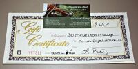 HEAVENLY SPA MOBILE A LICENSED MASSAGE THERAPIST GIFT CERTIFICATE VALUED AT $40