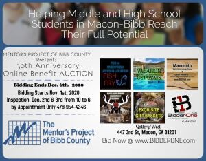 The Mentor's Project provides role models for encouragement and motivation to eligible Bibb County Public Middle and High School students who need additional support outside their family, and to assist them in reaching their full academic, social, and per