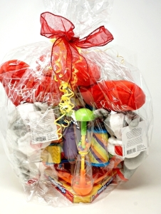 LARGE TOY ASSORTMENT GIFT BASKET