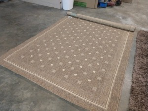 AREA ROOM RUG, 63-IN X 89-IN, CAPEL