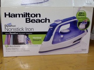 HAMILTON BEACH CLOTHES IRON