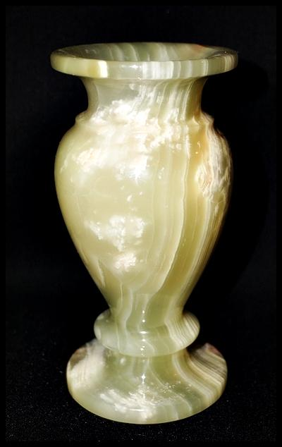 Genuine Onyx Vase Made In Pakistan Approx 6