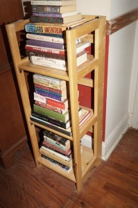 WOOD FOLDING OPEN BOOKCASE - MBR