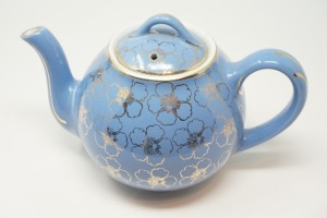 VINTAGE HALL POTTERY TEAPOT - BR2