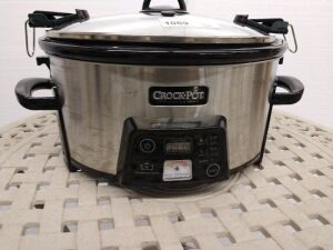Crock-Pot brand slow cooker