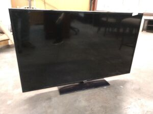 Samsung television, 55-in, missing remote, model number UN55J6201AF