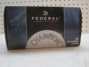 Federal Champion 22 LR - 500 Rounds