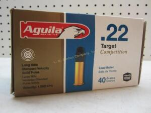 Aguila Competition 22 LR - 500 Rounds
